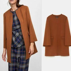 Zara Light Zip-up Coat